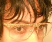 Vintage NEOstyle CAZAL GOLD NUGGET type eyewear