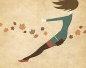 Autumn Swing - Print