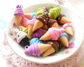 4pcs Ice Cream 1CI-07 - Assorted