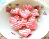 Sweethearts Collection Charms 20mm - Pink Glow - 5pcs
