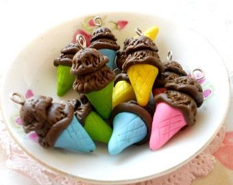 4pcs Chocolate 2scoops Ice cream - Assorted