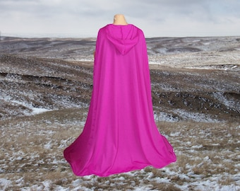 Cloak Cape Purple  Renaissance Halloween Costume Wedding Prom