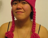 Square burly hat