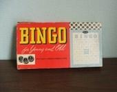 Vintage Bingo Game by Whitman Publishing