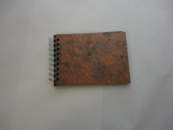 Blank journal book with Copper like finish