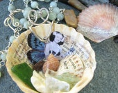 RESERVED FOR TRUSTJOY - FOR JAPAN AID - Ocean Fairy Necklace