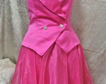 Vintage Evening Dress Halter