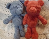 Baby's first teddy bear crochet pattern - Makes a great gift