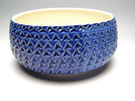 ceramic pottery Succulent plant pot  8 x 4 1/2 Free Shipping