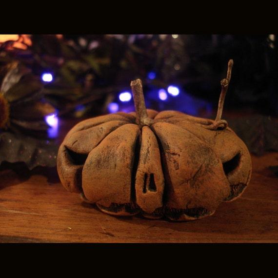 Evil Jack O Lantern Pumpkin