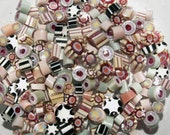WanderingBead Hand Made Murrini - Reactive Pastels COE 104