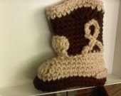Adorable Brown Cowboy Boots for Baby