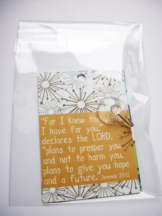 Scripture and encouragement for your mirror (Set 2). Includes suction hook. Start and end your day right.