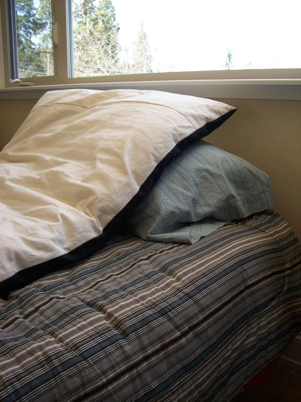 Camp Bed Roll Wool Organic Cotton Mattress Hemp Canvas And
