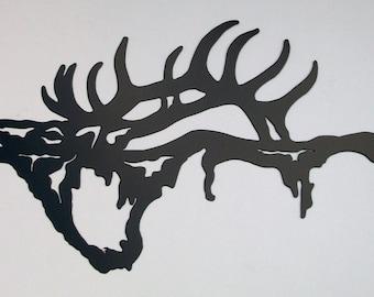 Elk Silhouette Wall Hanging