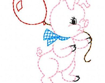 Baby Pig Machine Embroidery Designs