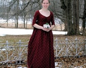 Custom Made Regency Dress