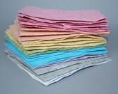 Green Handmade Paper