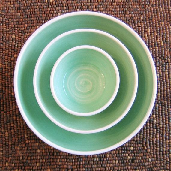Aqua Nesting Bowl Set