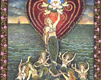 Mermaid Messengers Large Print