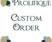 Custom Listing for molarte