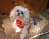 WONDER WOMAN - SUPER Girl - Dog Halloween Costume - Choose yours - 2 to 20 lbs
