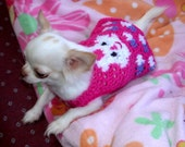 CUDDLE BUNNY - Blue or Pink or Other - 2 to 20 lb dogs - Easter or Anytime - made to order
