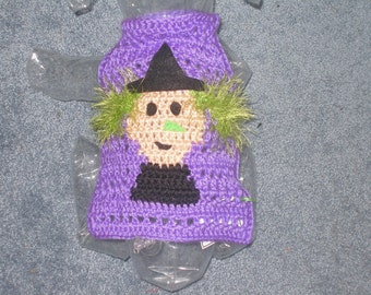 haLLoWEEN dog sweater WITCH or PUMPKIN HARVEST - up to 20 lbs