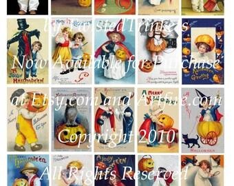 Ellen Clapsaddle Vintage Halloween I Digital Collage Sheet - Digital Delivery or Hardcopy