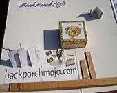 Cigar Box Guitar Deluxe Kit by Back Porch Mojo
