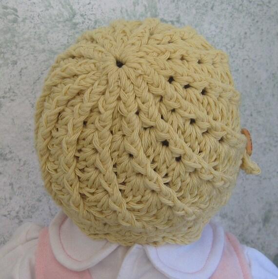 Crochet Hat Pattern Spiral Rib : Crochet Hat Pattern Infant-Toddler Spiral Ribbed Hat Instant