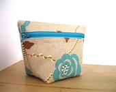 Chrysanthemum Cosmetic Bag