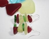 Seaside Glass Earrings