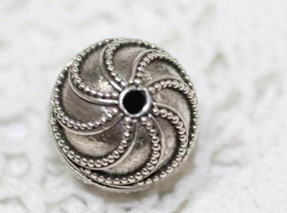 Balinese Silver Bead