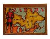 CANADA - Leather Travel Photo Album - Handmade