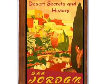 JORDAN 1- Handmade Leather Journal / Sketchbook - Travel Art
