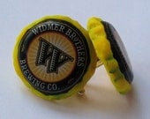 WIDMER BROTHERS Recycled Beer Bottle Cap CUFFLINKS