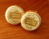 Stella Artois Beer Bottle Cap Cufflinks EXPRESS Shipping