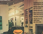 1976 House Beautifuls Building Manual Spring and Summer Solar Technology