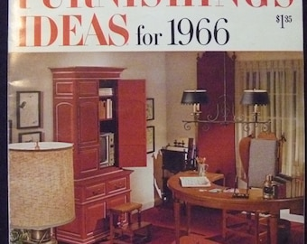 Better Homes and Gardens Home Furnishing Ideas for 1966