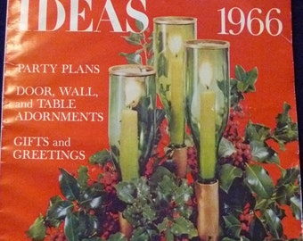 Better Homes and Gardens Christmas Ideas 1966