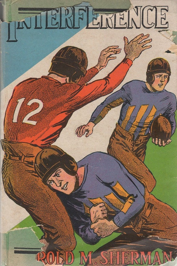 Interference and Other Football Stories by Harold M. Sherman Vintage 1932