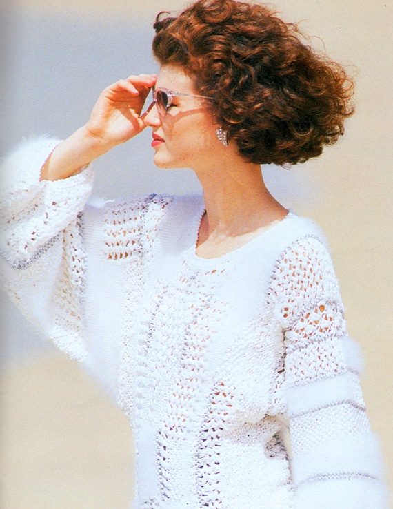 Angora Knitting Patterns : Anny Blatt No 26 Couture 35 Knitting Patterns Angora by sandmarg