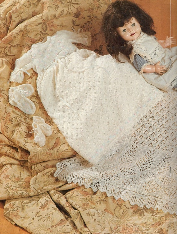 Royal Baby Dress Knitting Pattern : Patons A Royal Collection for Your Baby Heirloom Knitting