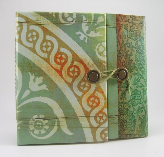 Basic Grey 6 x 6  Motifica Gatefold Mini Book Scrapbook Album
