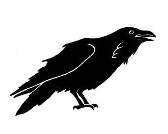 Raven Wall Art - Vinyl Decal
