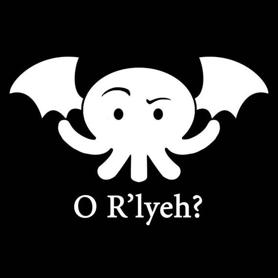 Cthulhu OR'lyeh - Vinyl Decal orly