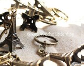 BIG SALE 50% OFF Vintage Eiffel Tower Keychain