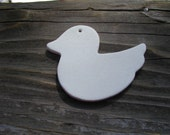 Ceramic Bisque Ducks set of 4