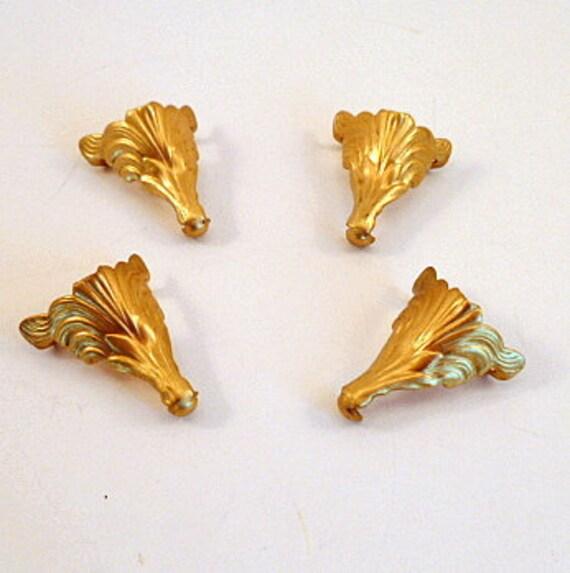 brass jewelry box feet 1